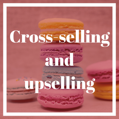 Cross-selling and upselling for online stores