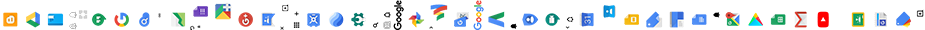 Google home page CSS sprites (the image is rotated and reduced in size, so that you can see it without scrolling).