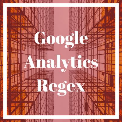 Google Analytics regex