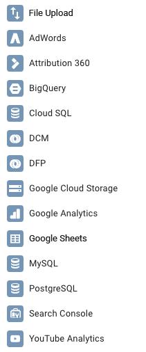 Google Data Studio Connectors