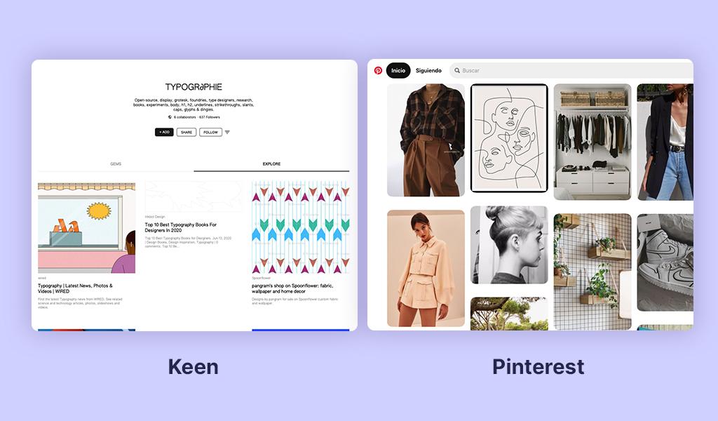 Keen vs. Pinterest