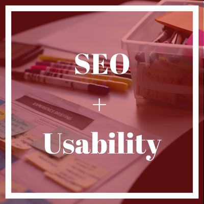 SEO and usability for good UX